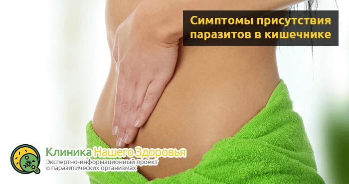 паразиты в кишечнике человека