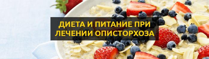 Правильное питание и диета при лечении описторхоза: разрешенные и запрещенные продукты